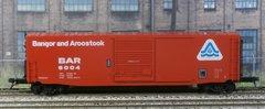 KADEE HO #6365 BANGOR and AROOSTOOK #6004 50' PS-1 BOXCAR