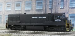 RIVAROSSI HO PENN CENTRAL #6510 GE U25C DCC INSTALLED