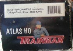 ATLAS TM GP38-2 SOUTHSHORE #2002 USED LOCOMOTIVE BOXES