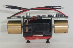 ATLAS MASTER HO MOTOR-FLYWHEELS-#342 DC/DCC DECODER-LED LIGHTS - 2 POST MOUNT-T SPLINE BUSHINGS