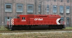ATHEARN R-T-R CANADIAN PACIFIC SD40 #5549 with DCC/SOUND OPTIONS