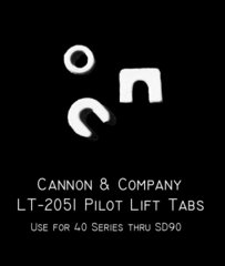 CANNON & CO #2051 ALL EMD PILOT LIFT TABS