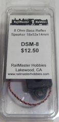 RAILMASTER HOBBIES DSM-8 BASS REFLUX SPEAKER