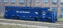 ATHEARN GENESIS #G86193 PAN AM RAILWAYS EMD SD45-2 #617 SOUNDTRAXX SOUND AND DCC
