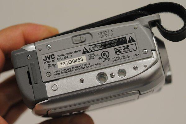 Jvc Gr D347u Mini Dv Camcorder Battery Charger Case