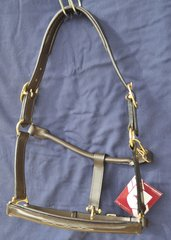Bobby's English Tack-Fairhaven leather halter