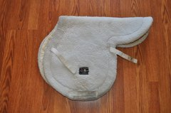 Medallion used fleece pad
