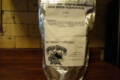 Husker Rub 1 lb. Bag