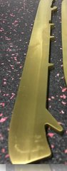 GOLD Tydan Custom Skate Blades TIN Coated