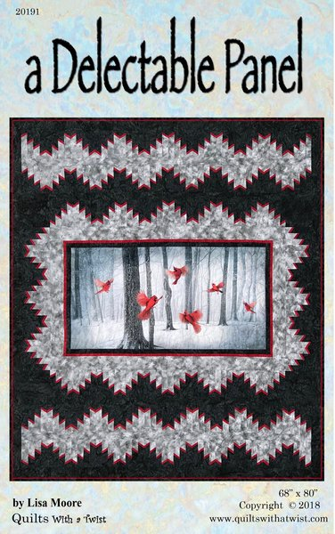 A Delectable Panel Pattern Cardinal Quilts With A Twist
