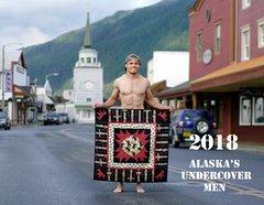 2018 Alaska's Undercover Men Quilt Calendar