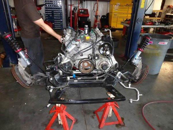 2010 - 2011 CAMARO V6 3.6 LLT TURBOCHARGER KIT INSTALLED ...