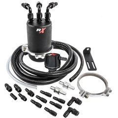 LS ENGINES GM dual valve 4 chamber MONSTER catch can universal kits