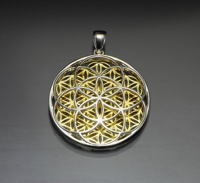 Seed of life flower of life pendant lovelightproductions lovelightproductions mozeypictures Gallery