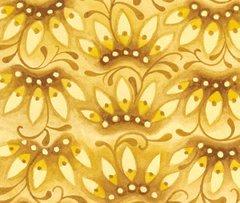 F - Mooshka, Crown Flower, Gold/Brown