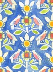 F - Mooshka, Birds Blue