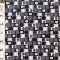 F - Hoopla, Orb Grid, Black/White
