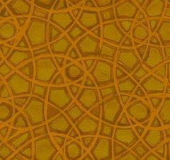 F - Garden For Olivia, Golden Brown Tonal Print