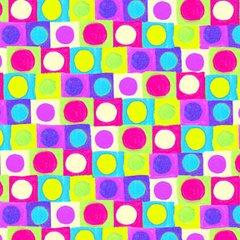 F - Hoopla, Orb Grid, Purple/Green Brights