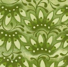 F - Mooshka, Crown Flower, Green