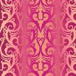 F - Shangri-La Ombre Stripe - Pink