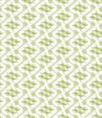 F - Roo3, Green & White