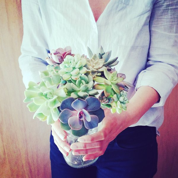 Medium Succulent Bouquet