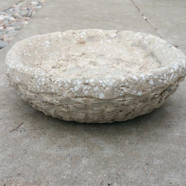 "8"" Round Tufa Pot"