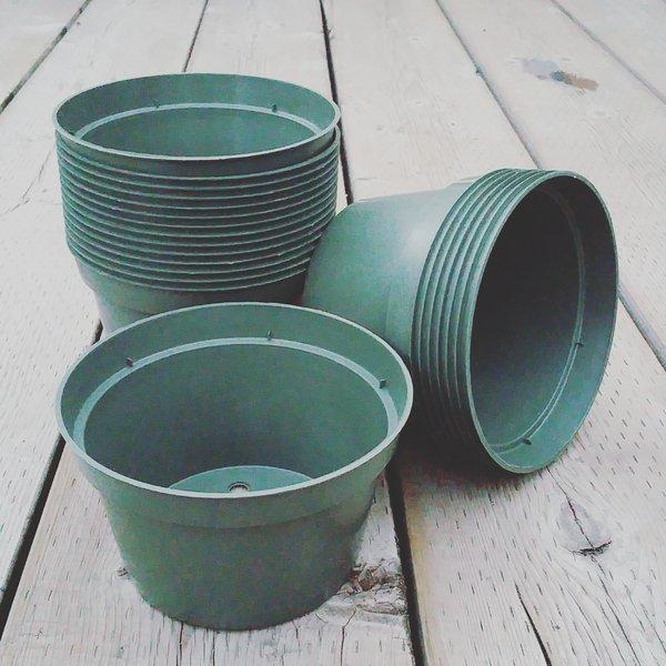 """6"""" Half Plastic Pot"""