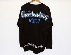 It's A Cheerleading World Jersey