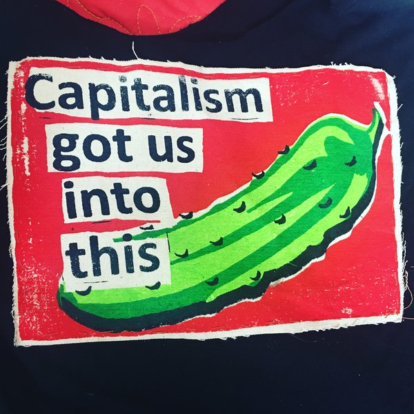 Capitalism Got Us Into this Pickle Shirt