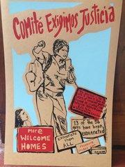 Comite Exigimos Justicia poster