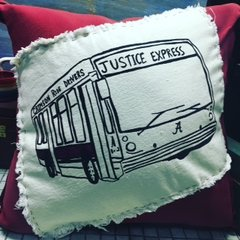 Justice Express Pillow - Crimson Ride Drivers