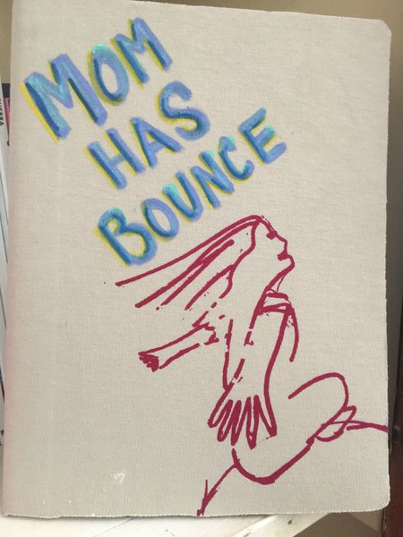 Mom Has Bounce composition Notebook