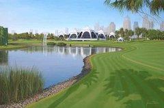 Emirates Golf Club, Dubai, 9th Hole