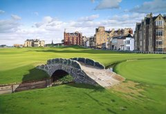 St. Andrews Swilcan Bridge.
