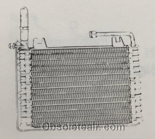 68 69 70 71 72 73 chevy ii nova evaporator 1968 1969 1970 1971 obsolete air part for classic. Black Bedroom Furniture Sets. Home Design Ideas