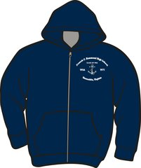 Hammond High School Zippered Hoodie