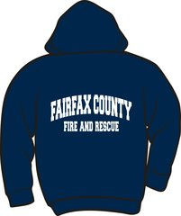 Fire & Rescue Heavyweight Zipper Hoodie