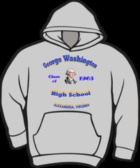 GW High School Class Hoodie