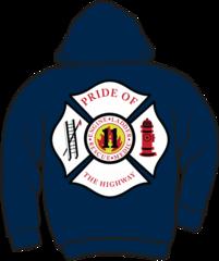 FS411 Fire & Rescue Lightweight Zipper Hoodie
