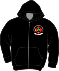 Progressive Firefighters Lightweight Zipper Hoodie