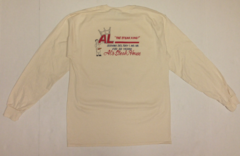 Al's Steakhouse - Steak King by Donnie Strother long-sleeve T-shirt - click for shirt colors
