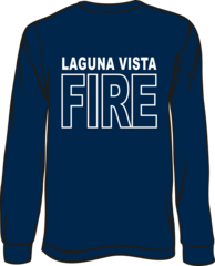 Laguna Vista Fire-Rescue Long-Sleeve T-Shirt