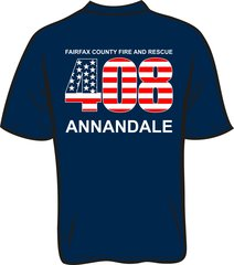 FS408 Flag T-shirt