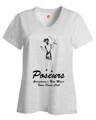Poseurs V-neck T-Shirt
