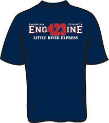 FS423 Little River Engine T-shirt