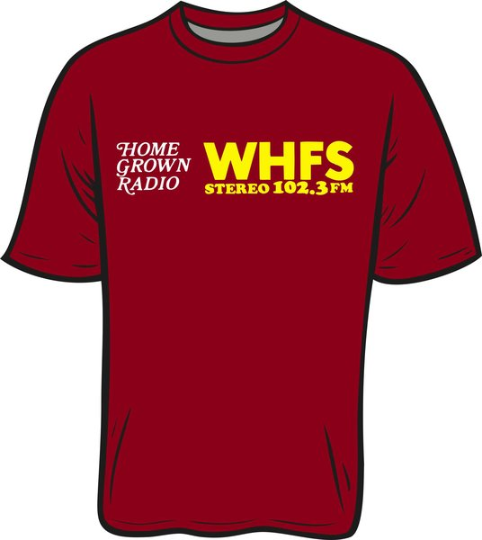 WHFS 102.3 T-Shirt