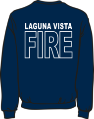 Laguna Vista Fire-Rescue Lightweight Sweatshirt