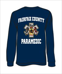 Paramedic Long-Sleeve T-Shirt